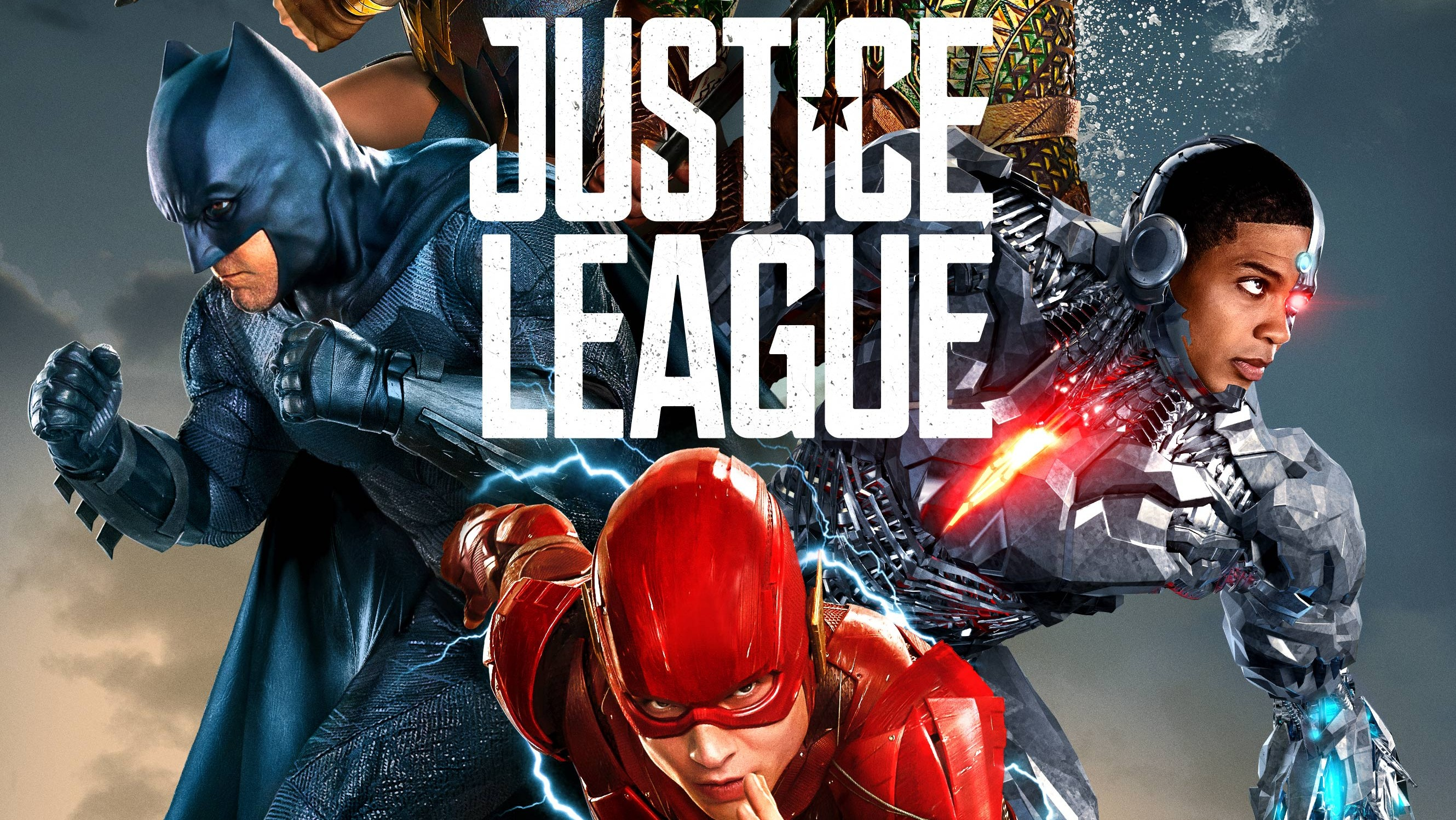 Justice League Poster UK - F